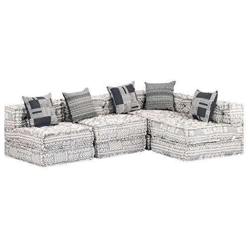 Tidyard Ecksofa Eck-Couch im modernen Design,Modulares Sofabett Chaiselongue Vielseitige Schlafsofa mit Schlaffunktion Sofa Couch Wohnlandschaft