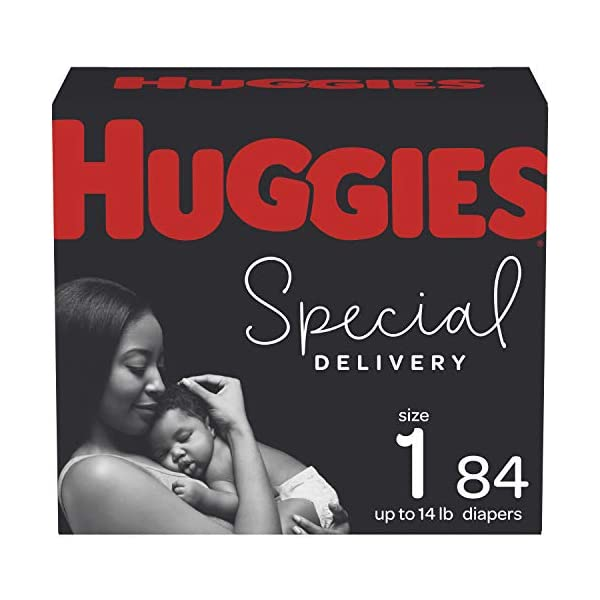 Huggies Special Delivery Hypoallergenic Baby Diapers Size