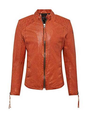 Tigha Herren Übergangsjacke Nero orange L