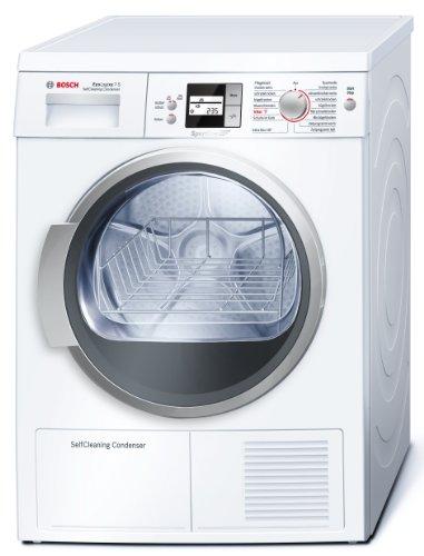 Bosch WTW8656S Wärmepumpentrockner EcoLogixx 7S / A / -50% / 7 kg / SensitiveDrying / SelfCleaning Condenser / Sportline