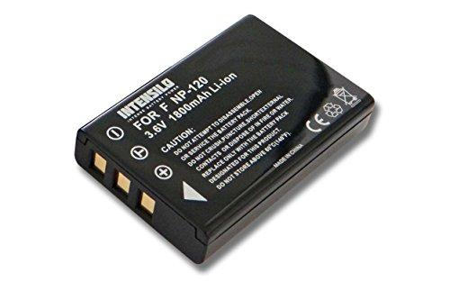 INTENSILO Batterie Li-ION 1800mAh (7.2V) pour Portable Exfo AXS-100, AXS-110 OTDR, FIP-400-D, FLS-600, FPM-600, FVA-600 comme XW-EX003.