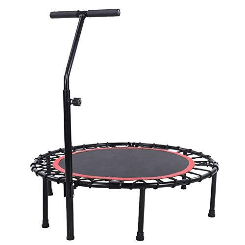 40 In Gym Trampolin/Miniatur Trampolin Rebounder Child Fitness Trampolin Falttrampolin Heimsport, Unterstützung bis zu 300 Pfund