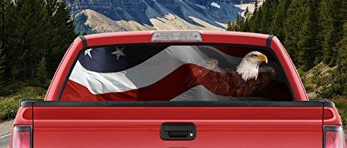 full back window decal for trucks - 7