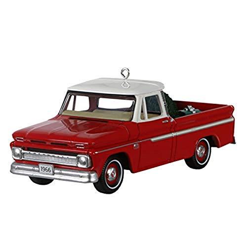 Hallmark Keepsake Christmas Ornament 2020 Year-Dated, 1966 Chevrolet C-10 Pickup All-American Trucks, Metal