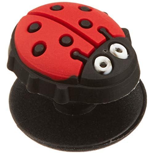 Crocs Decorazione Scarpe Animali | Personalizza con Jibbitz Unisex, Ladybug, One-Size