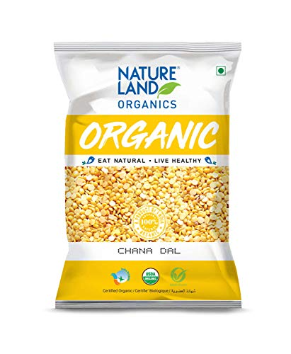 Natureland Organics Chana Dal Pouch, 1 kg