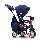 smarTrike Swirl Triciclo de bebé 4 en 1, Rojo Marino
