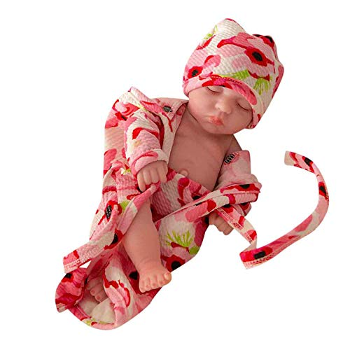 Morran Reborn Baby Doll De 10 Pulgadas Realista Rebes Bebes Silicona Suave Es Fiel Al Juguete De Nacimiento De Ninas Necien