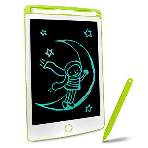 Richgv 8.5 Pulgadas. Tableta de Dibujo gráfico, Tableta de Escritura LCD, Regalo para niños, Pizarra magnética para niños, Adultos, Oficina (Verde)
