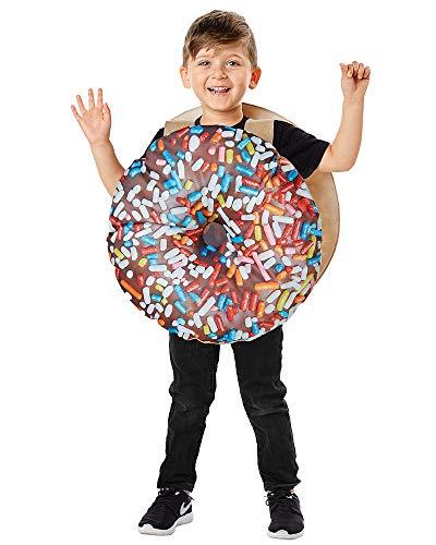 Seasons Direct Halloween Toddler Chocolate Donut Costume 2-4T