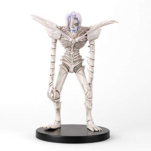 Death Note Actionfigur Spielzeug – Anime-Figuren Rem Action-Figuren PVC-Material, Statue Anime-Charakter, statisches Modell, Anime-Sammelspielzeug, Geschenk für Kinder, 20 cm