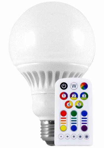 Müller-Licht LED Globeform RGBplus E27 8 W 470 lm inklusive Fernbedienung 56094