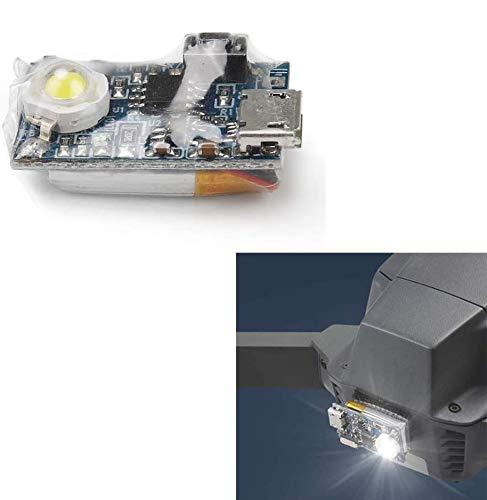 Linghuang Strobe Light für Drohne DJI Mavic Pro 2 Mavic 2 Zoom Mavic Pro Mavic Air Spark Phantom 4/3 Inspire 1 RC Flugzeug YuneecTyphoon H Q500 Kit Nachtkreuz (1 Stück)