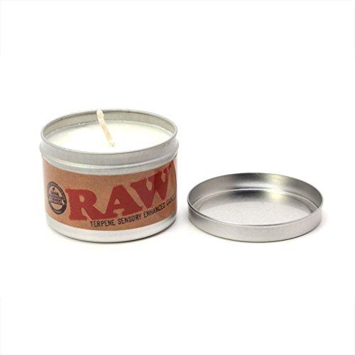 RAW Duftkerze RAWtural Scent mit Hanfsamenöl 1 Duftkerze