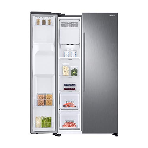 Réfrigérateur Samsung RB34T673EWW, Humidity Fresh +, Technologie SpaceMax, All-Around Cooling, Optimal Fresh +, Power Cool et Power Freeze, couleur blanc