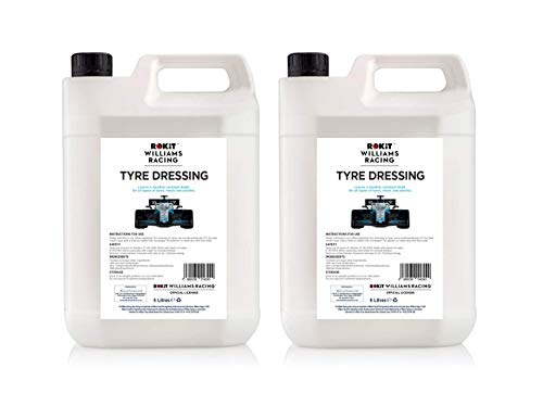 Williams Racing Tyre Dressing 2 x 5 Litre