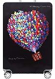 Hayisugar elastische Kofferschutzhülle Dicke Kofferhülle mit Reißverschluss Kofferüberzug Kofferschutz Kofferbezug Reisekofferabdeckung Koffer Cover Schutz, Bunt Luftballons, XL (29-32 Zoll)