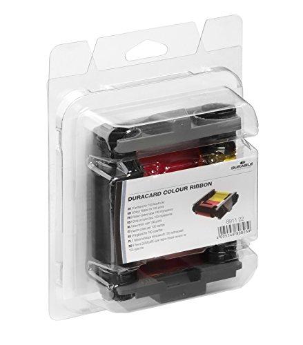 Durable 891122 Farbband Duracard ribbon, 1 Stück mehrfarbig
