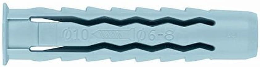 INDEX Fixing Systems TN4S universele pluggen 4 segmenten nylon 100 stuks 8 x 40 mm, diámetro de 8 mm