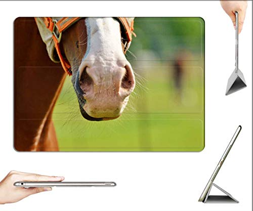 Case for iPad Pro 12.9 inch 2020 & 2018 - Horse Horse Head Nostrils Brown Head Animal