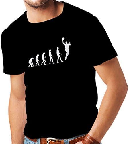 Camisetas de Evolución de Baloncesto para Hombre - Canasta de la Calle