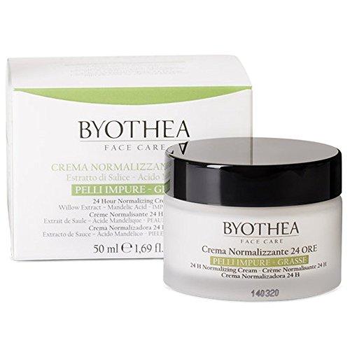 Byothea Crema Normalizzante Viso 24 Ore – Pelli Grasse E Impure - 50 Ml