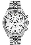 Timex Herren Chronograph Quarz Uhr mit Edelstahl Armband TW2R88500