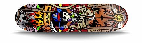 Roces Cowboy Unisex - Kinder Street-Skateboard, Mehrfarbig, Einheitsgröße
