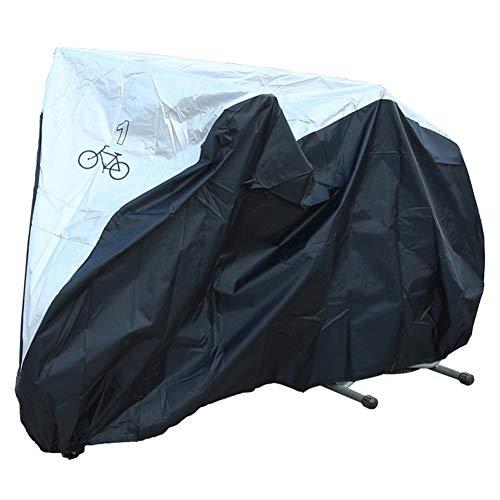 SCAHUN Funda Protectora Muebles Jardín Cubierta Coche Eléctrico/Coche De Batería/Motocicleta/Bicicleta Ropa Protector Solar Sombrilla Cubierta para Lluvia,Black-190×72×110cm