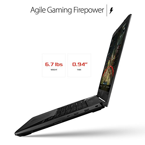 "ASUS ROG STRIX GL703VD 17.3"" Gaming Laptop, GTX 1050 4GB, Intel Core..."