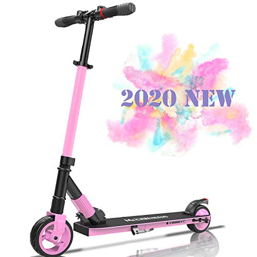 Windway Faltbarer Elektroroller LCD-Display, 250W, 12 km Langstrecke Batterie, bis zu 23 km/h, Einfach zusammenklappbarer und tragbarer E-Scooter für Kinder und Erwachsene (Grün)