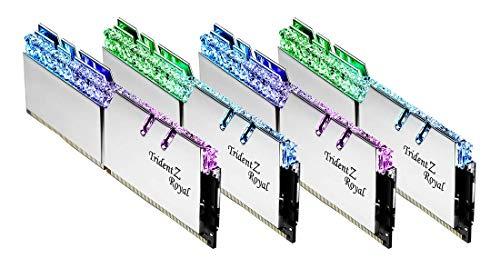 G.Skill Trident Z Royal F4-3600C16Q-128GTRS memoria 128 GB 4 x 32 GB DDR4 3600 MHz