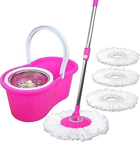 Rimani Enterprises Mop Floor Cleaner with Spin Bucket...