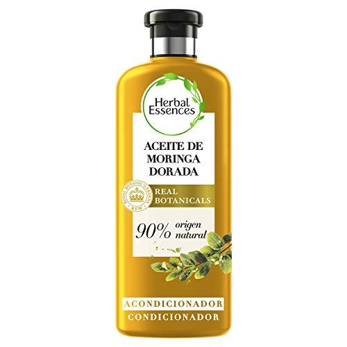Herbal Essences bio:renew Acondicionador para un pelo suave, Aceite de Moringa Dorada 400ml, con ph neutro e ingredientes naturales
