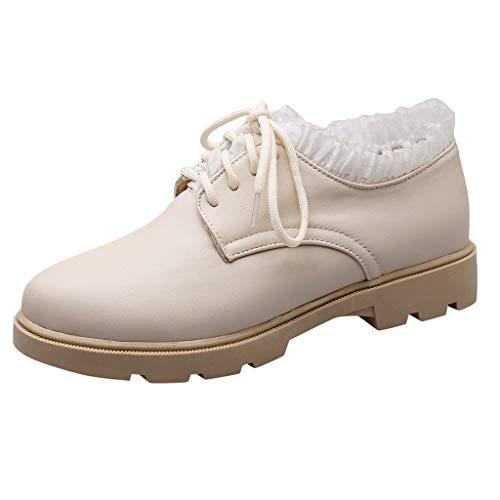 Read About Benficial Women's Casual Shoes, Shoes Flat Platform Shoes Round Toe Ladies Single Shoes B...