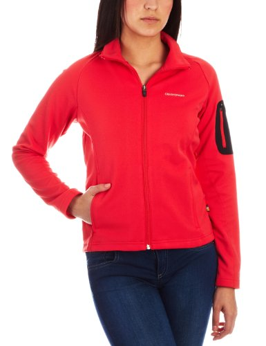 Craghoppers Duke of Edinburgh Vicona Veste Polaire Femme Softshell pour Femme Rouge Blush Red 44