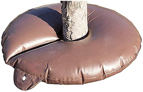 15 Gallonen Bewässerungsringe für Bäume PVC Bewässerungsbeutel Bewässerungsring für Pflanzen für Bäume mit langsamer Abgabe Bäume zur langzeit Bewässerungssystem