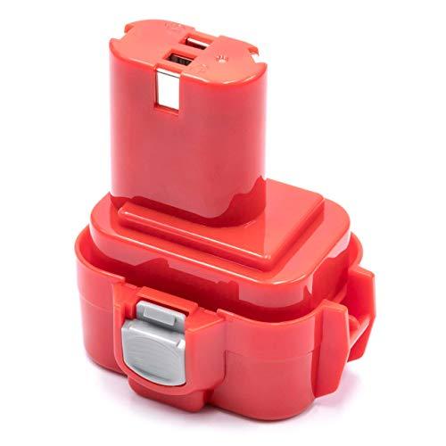 vhbw Variation Batterie NiMH 3000 mAh (9.6 V) pour Outil électrique Power Tools Outils comme Outil Makita 9100 A, 9101, 9101 A, 9102, 9102 A