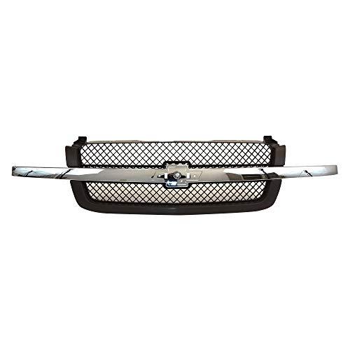 03 silverado front grill - 9