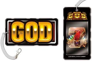 (ミリオンゴッド) パチスロ GOD ミリオンゴッド 神々の系譜ZEUSver. ICカードパスケース