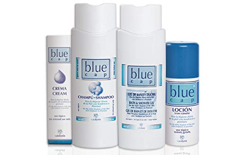 BLUE CAP CHAMPU 400 ML.