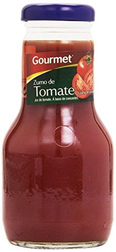 Gourmet - Zumo de tomate 100% - 200 ml - [Pack de 12]