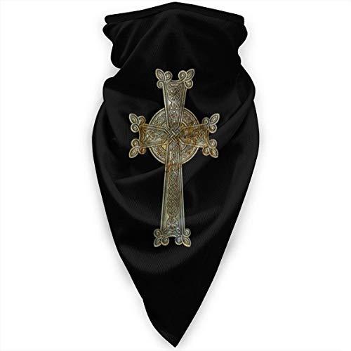 Double Cheese Icono de la religin Calzoncillo armenio con Cuello Cruzado Calentador Mscara Facial a Prueba de Viento Bufanda Mscara Deportiva al Aire Libre