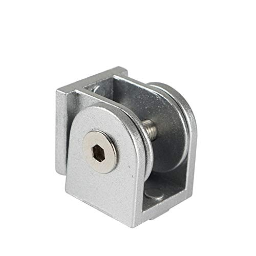 STEWYR 3D Printer Part Aluminum Angle Connector Adjustable Hinge Compatible With V-Slot C-Beam Uy8