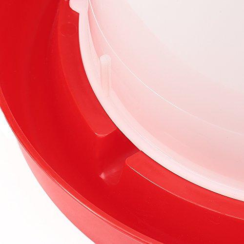 15 Liter Kunststoff Stülptränke Hühnertränke Trinknapf Geflügeltränkeeimer - 2