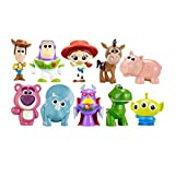 EASTVAPS 10 Piezas Toy Story Woody Buzz Light Year Mini Figura Decoración Muñeca...