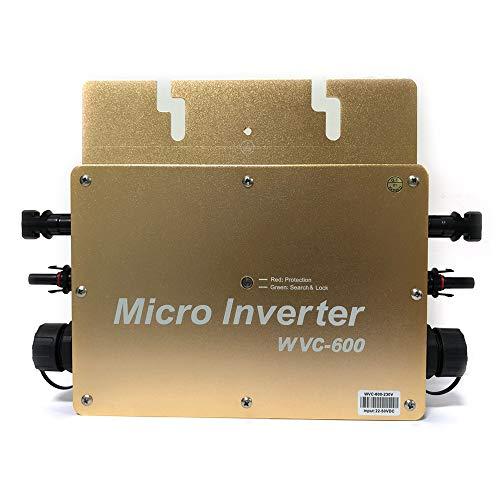PV Micro Módulo Inversor Solar, Inversor Microinversor IP65, Micro Fotovoltaico Inversor (WVC-600w Gold)