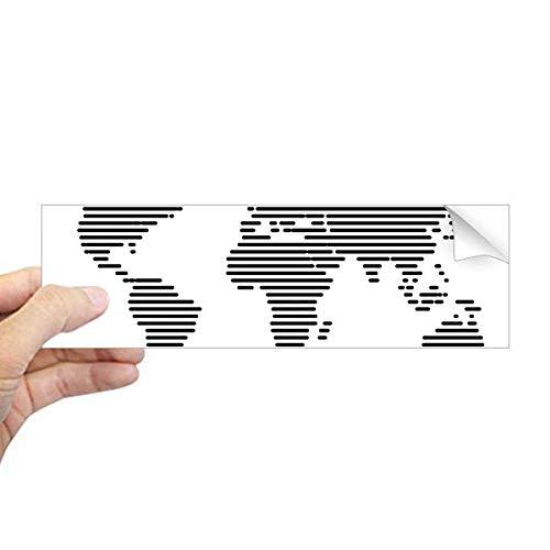 wereldkaart sticker ikea