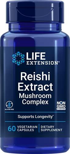 Life Extension Reishi Extract Mushroom Complex Broad-Spectrum Immune...