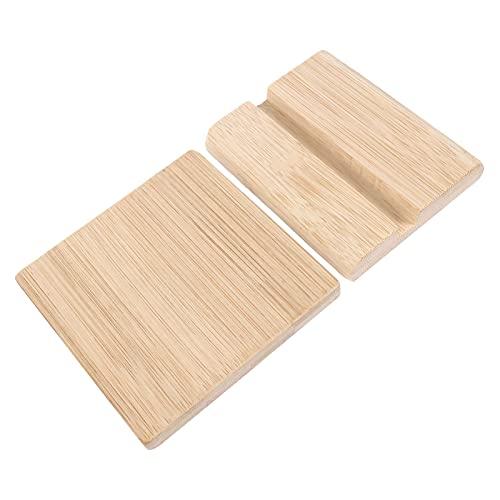 Gadpiparty Stojak na karty biurkowe na wizytówki etykieta cena etykieta indeks stojak bambusowy biuro karta płatność tablica stojąca